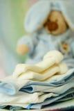 De kleding van de baby royalty-vrije stock afbeeldingen
