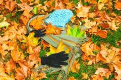 De kleding van de herfst Royalty-vrije Stock Afbeelding