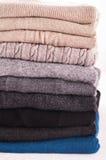 De kleding van de wol royalty-vrije stock foto's