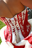 De kleding van het huwelijk Stock Foto's