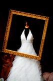 De kleding van het huwelijk stock afbeelding