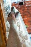 De kleding van het huwelijk royalty-vrije stock foto