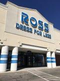 De kleding van ROSS voor minder Stock Foto's