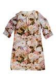 De kleding van vrouwen met een bloemenpatroon Royalty-vrije Stock Afbeelding