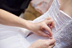 De kledingskorset van het huwelijk Royalty-vrije Stock Fotografie