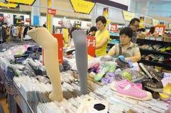 De kledingstentoonstelling van het Shenzhen internationale beroemde merk Royalty-vrije Stock Afbeelding