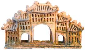 De klei van het huis Stock Afbeeldingen