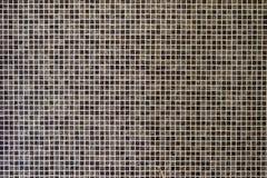 De kleine achtergrond van mozaïektegels Stock Foto's