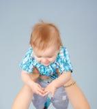 De kleine baby Royalty-vrije Stock Foto's