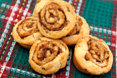 De kleine Broodjes van de Kaneel royalty-vrije stock afbeeldingen