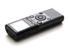 De kleine cassetterecorder gebruikte om toespraak voor te registreren Royalty-vrije Stock Fotografie