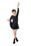 De kleine danser stock foto
