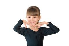 De kleine danser Stock Foto's
