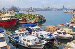 De kleine haven Stock Afbeelding