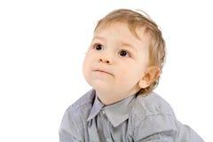 De kleine jongen Stock Foto's
