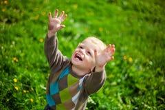 De kleine jongen Royalty-vrije Stock Foto