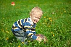 De kleine jongen Royalty-vrije Stock Afbeeldingen