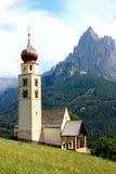 Saint Valentine small church, Northern Italy Stock Foto
