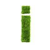 De kleine letter van het gras royalty-vrije illustratie