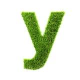 De kleine letter van het gras stock illustratie