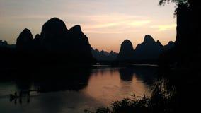 De kleine Li-rivier royalty-vrije stock afbeelding