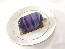 De kleine marmeren cake van de Spiegelglans Royalty-vrije Stock Afbeeldingen