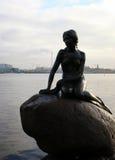 De kleine meermin, Kopenhagen Stock Fotografie