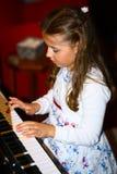 De kleine pianist Royalty-vrije Stock Foto