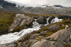 De kleine rivier van de berg Royalty-vrije Stock Afbeelding