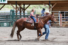 De kleine Rodeo van de Rijbroek Stock Fotografie