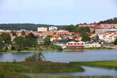 De kleine stad van Europa Stock Afbeeldingen