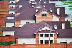 De kleine stad van het plattelandshuisje Royalty-vrije Stock Foto's