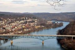 De kleine stad van Pennsylvania Royalty-vrije Stock Afbeeldingen