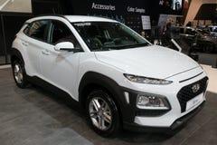 2018 de kleine SUV auto van Hyundai Kona Stock Foto