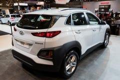 2018 de kleine SUV auto van Hyundai Kona Stock Afbeelding