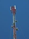 De kleine toren van de Telecommunicatie royalty-vrije stock afbeeldingen
