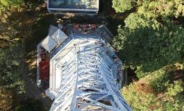 De kleine toren van staaleiffel in Praag in de Tsjechische Republiek royalty-vrije stock foto's