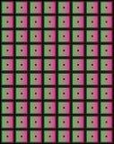 De kleine vierkanten van de kleur. Stock Foto