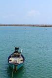 Het park van de kleine boot bij baai Royalty-vrije Stock Afbeeldingen