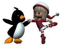 De Kleine Vrienden van de kerstman Royalty-vrije Stock Fotografie