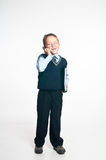 De kleine zakenman Royalty-vrije Stock Fotografie