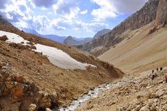 De kleinere bergen van de Kaukasus Royalty-vrije Stock Afbeelding