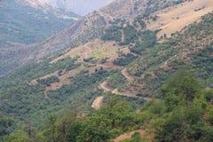 De kleinere bergen van de Kaukasus Royalty-vrije Stock Afbeeldingen