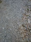 de kleinere steen, groter, is hetzelfde Stock Afbeeldingen