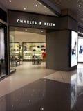 De kleinhandelswinkel van Charles & van Keith Stock Afbeeldingen