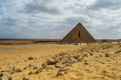 De kleinste piramide Stock Fotografie