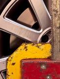 De klem van het wiel Stock Afbeeldingen