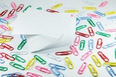 De klemmen van het briefpapier Royalty-vrije Stock Afbeelding