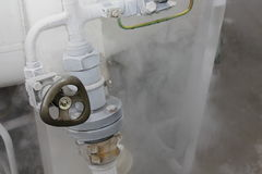 De klep van het gas Stock Afbeeldingen