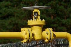 De klep van het gas Royalty-vrije Stock Fotografie
